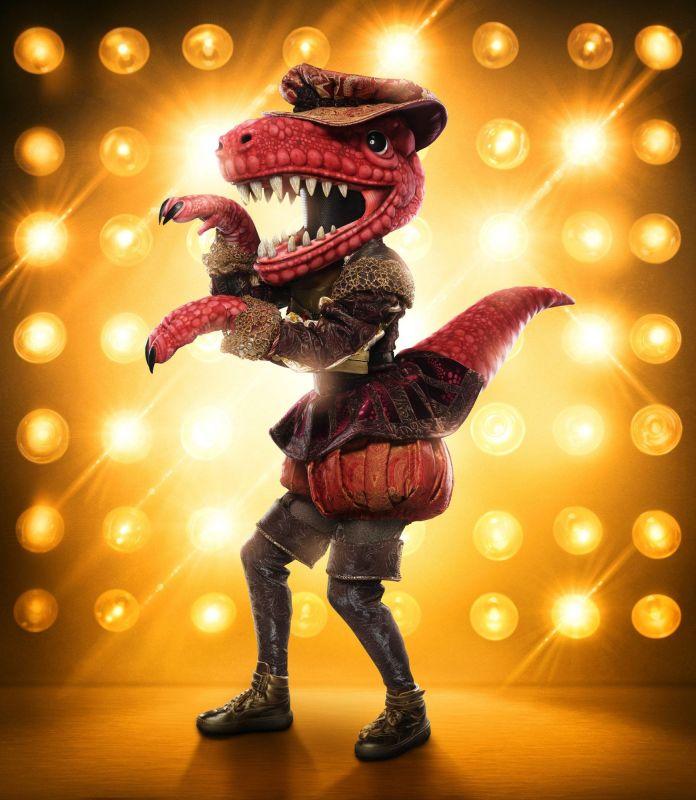 the masked singer, season 3, t-rex