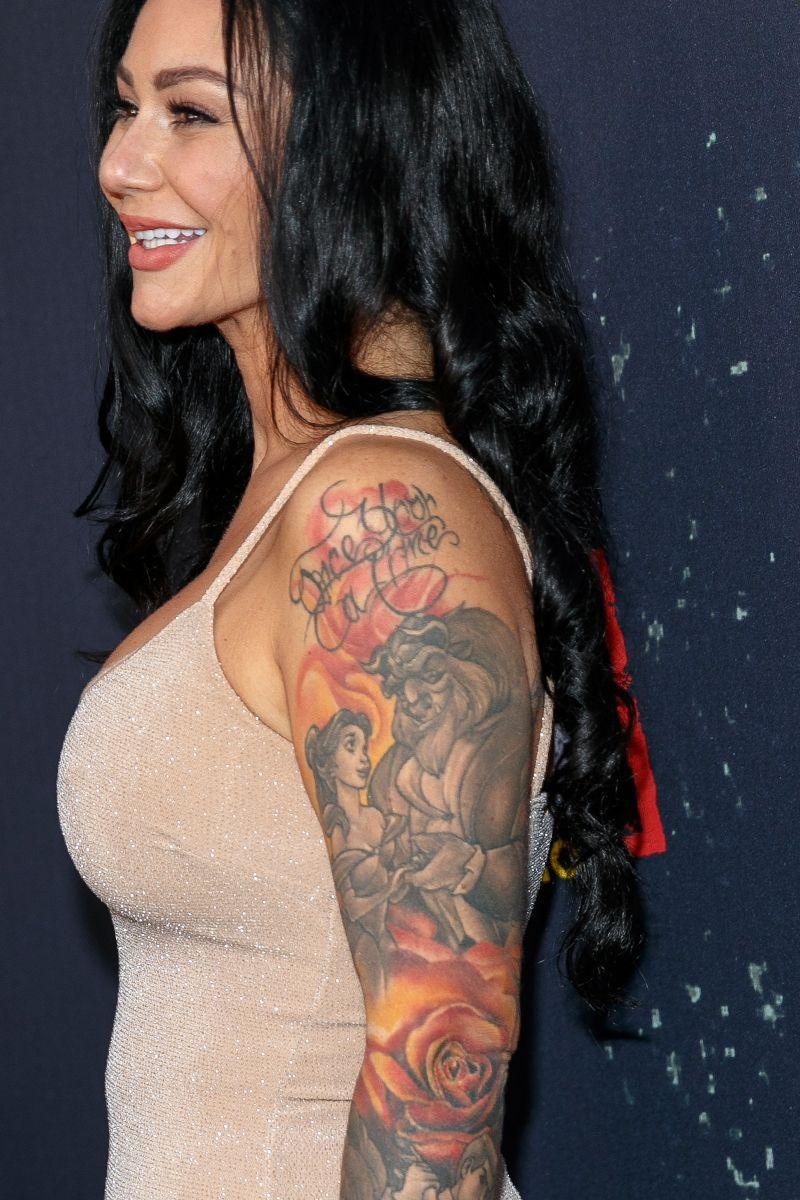 Jwoww Sleeve : jwoww, sleeve, Crazy, Celebrity, Tattoos, Funny, Celeb, Tattoo, Photos