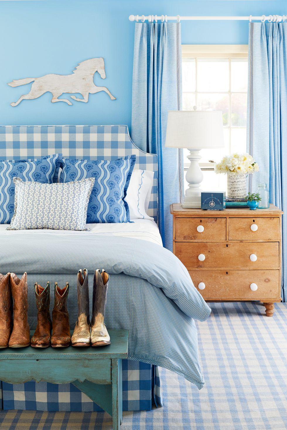 teen bedroom ideas - country theme