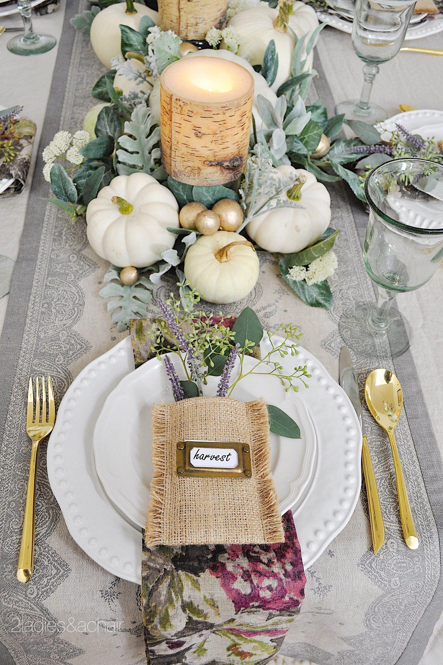 55 thanksgiving table settings