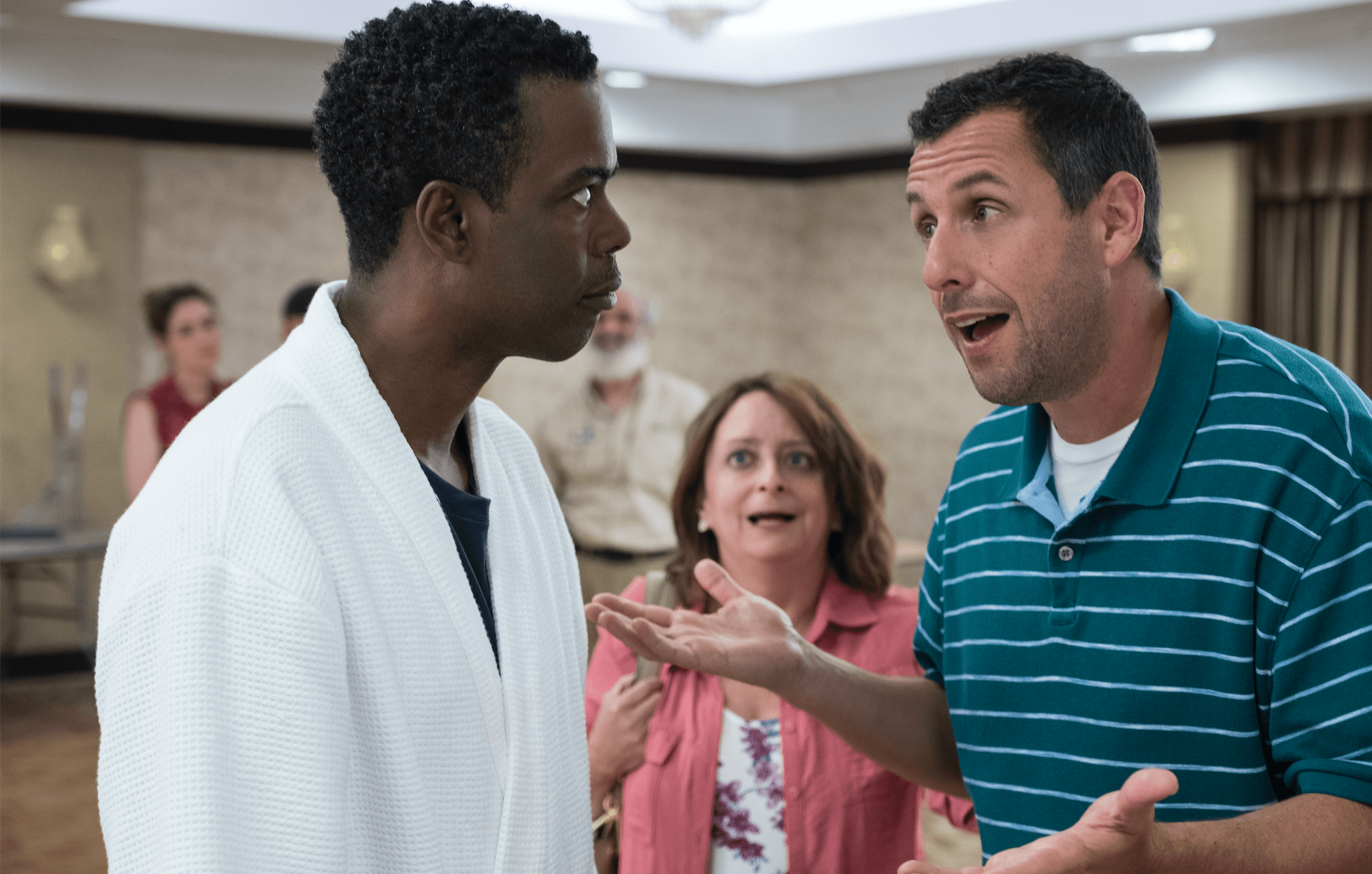 Chris Rock and Adam Sandler in 'The Week Of'
