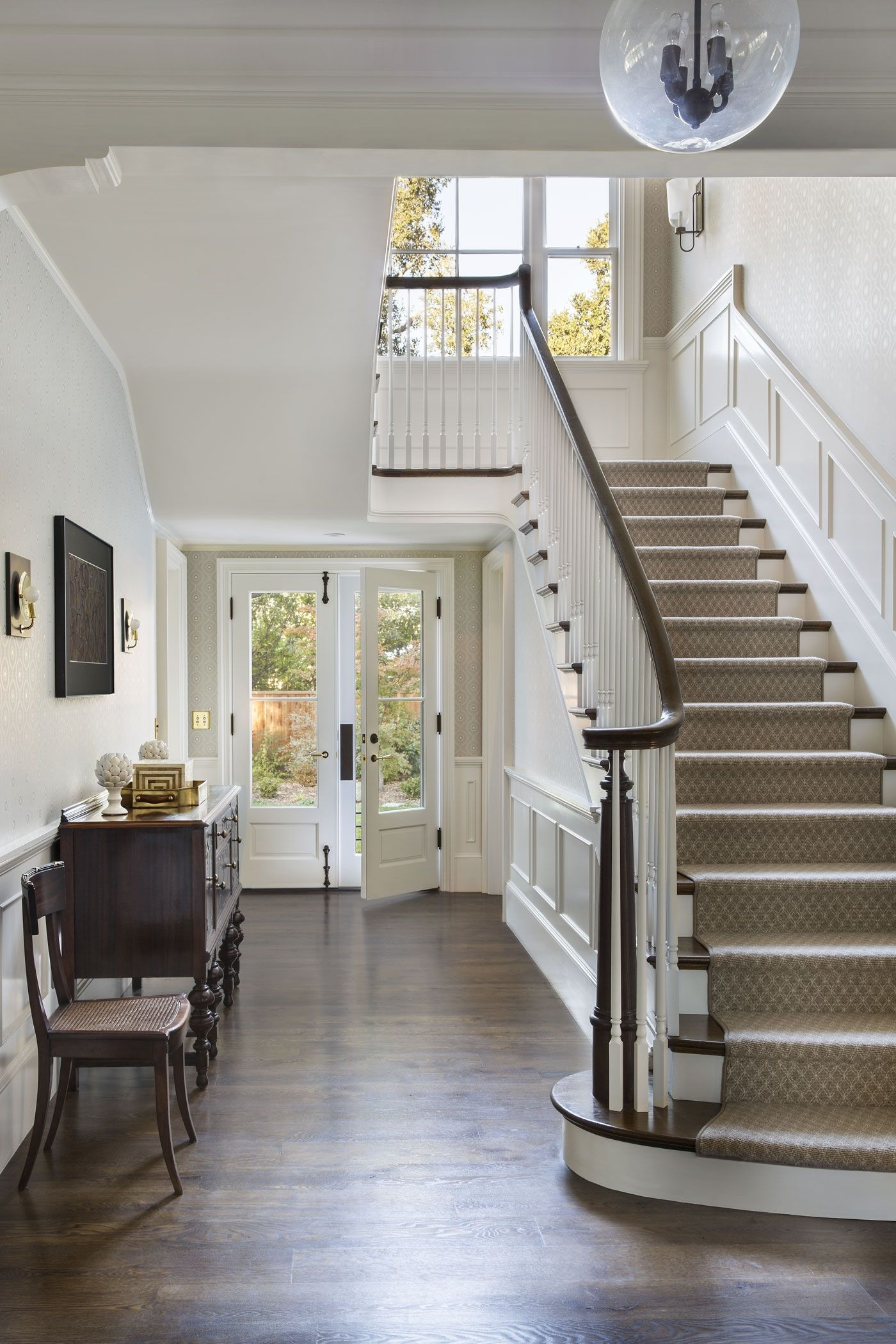 25 Stunning Carpeted Staircase Ideas Most Beautiful Staircase | Staircase In Hall Design | 2 Storey House | Low Budget | Step Side Wall | Steel Verandah | Mansion