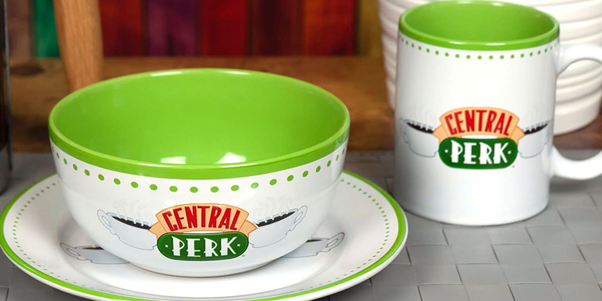 This New 'Friends' Central Perk Eating Set Will