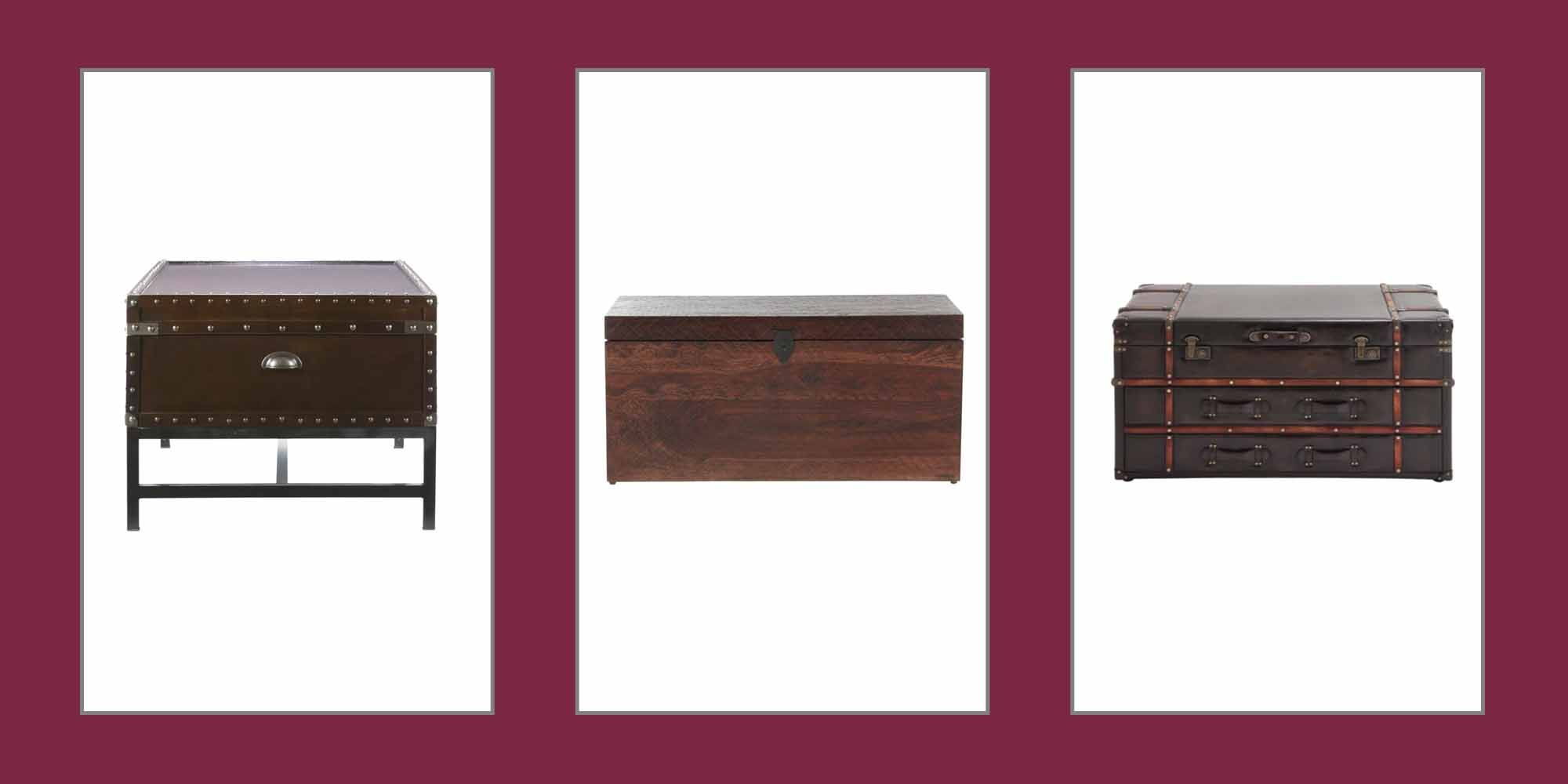 10 trunk coffee tables to add a dose of charm to your living room