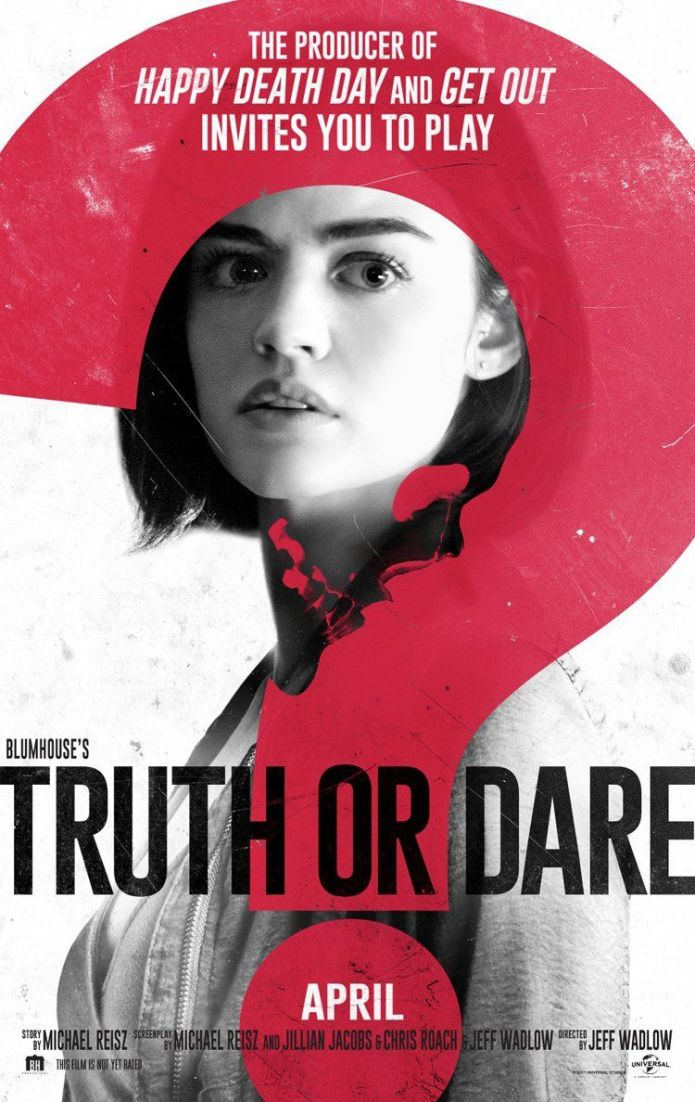 Truth or Dare Movie Poster - Best Halloween Movies