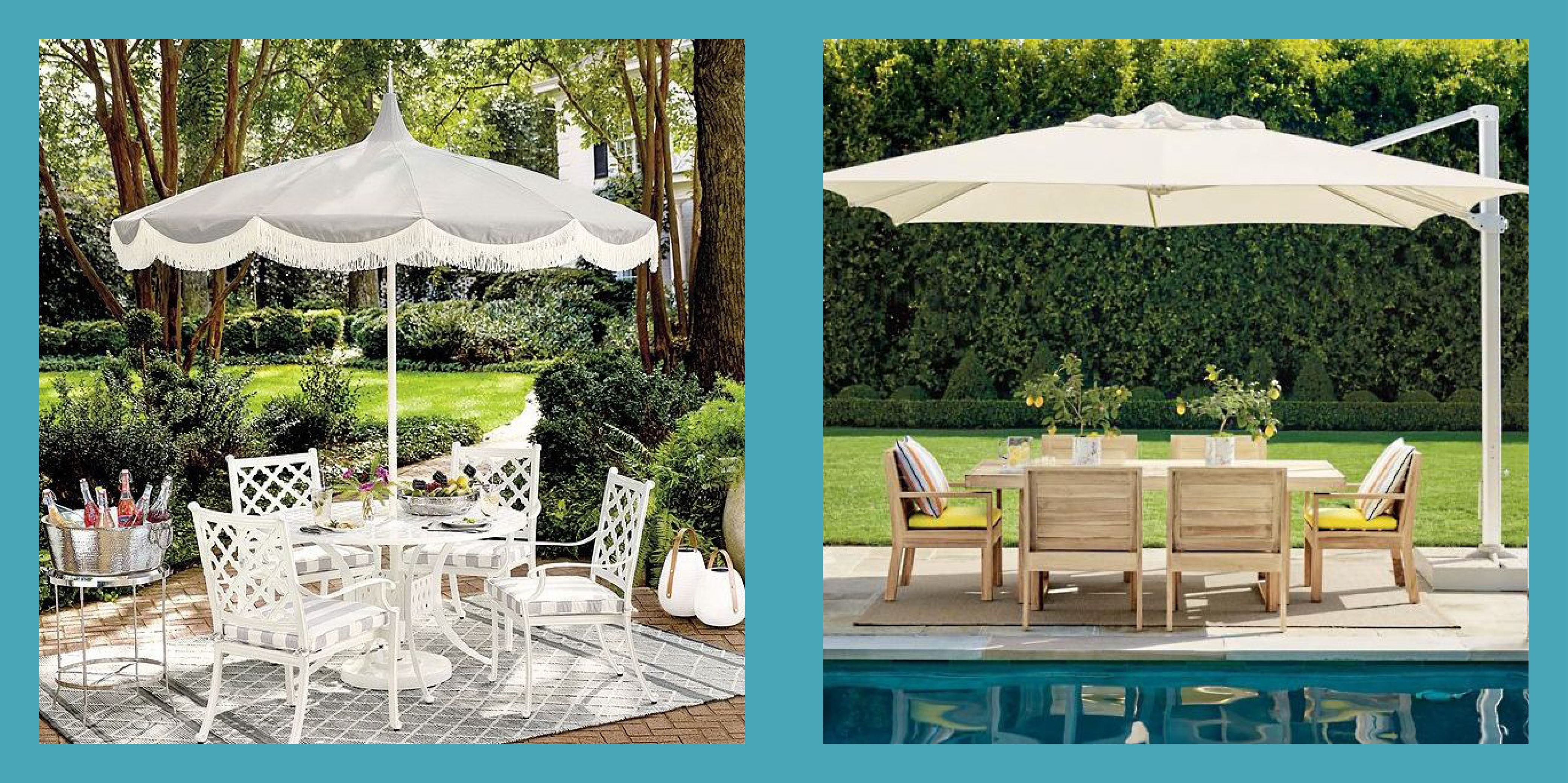 the 10 best patio umbrellas to shade a sun filled outdoor space