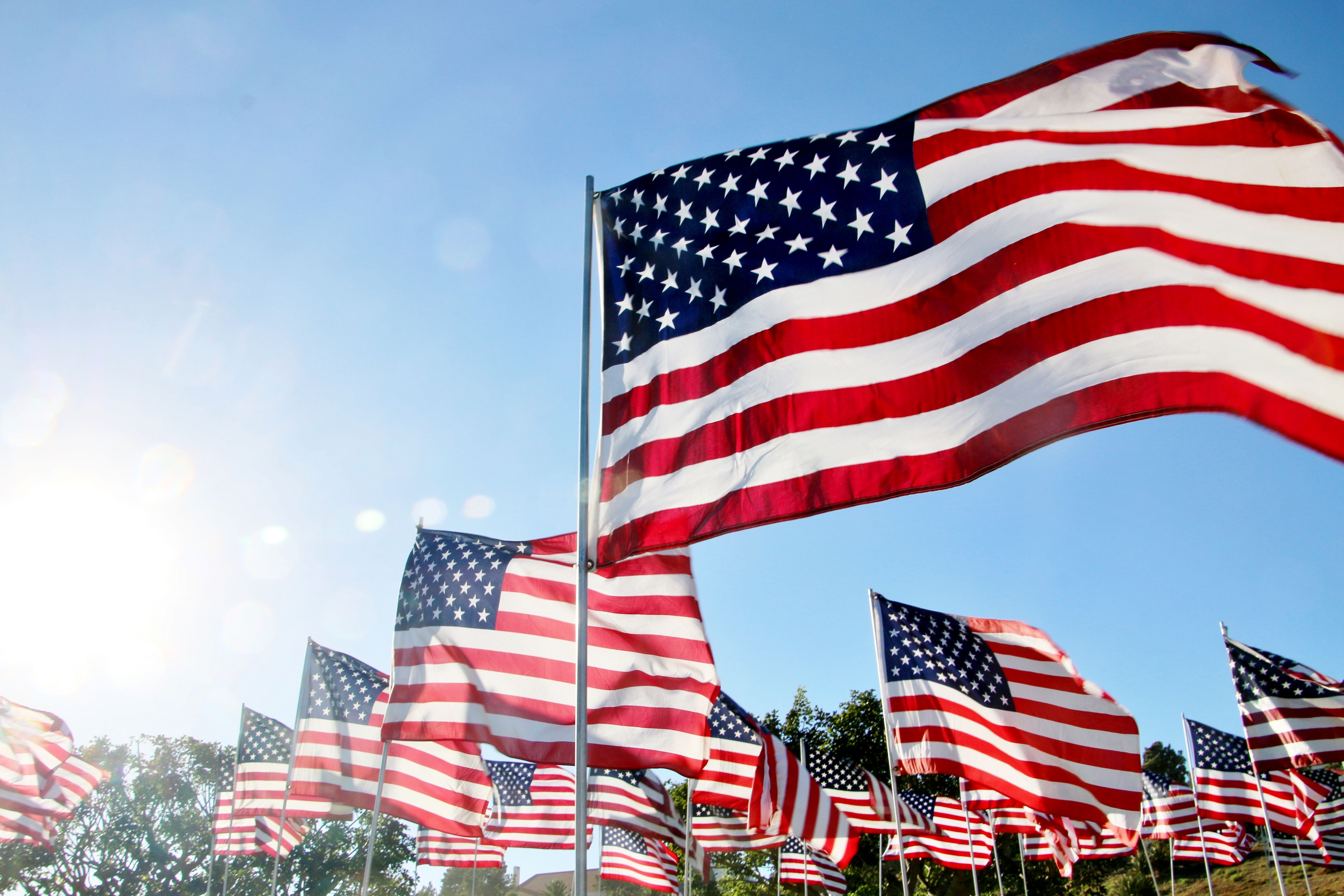 american flag facts history