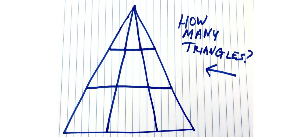 medium resolution of How Many Triangles Do You See - Viral Math Problem Triangle