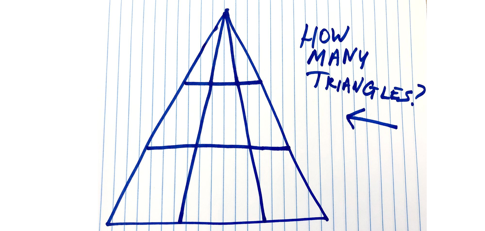 hight resolution of How Many Triangles Do You See - Viral Math Problem Triangle