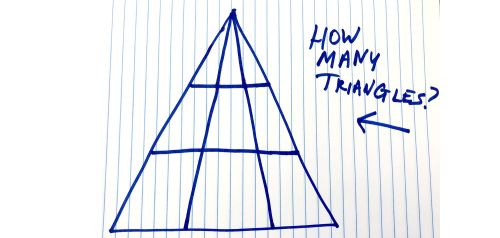 small resolution of How Many Triangles Do You See - Viral Math Problem Triangle