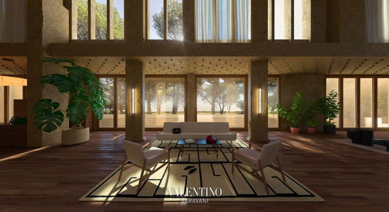 Valentino Opens the Doors of Its Virtual Home