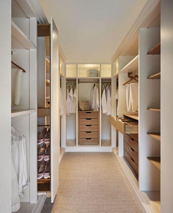 Vestidores perfectos  5 ideas para organizar el vestidor