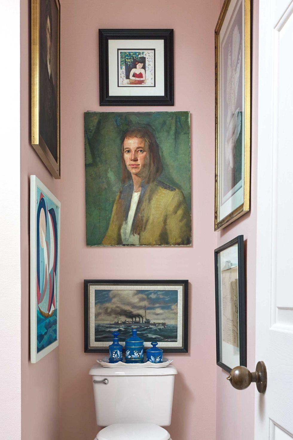 room, wall, bathroom, interior design, picture frame, bathroom accessory, house, shelf, home, art,