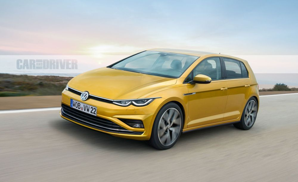 medium resolution of 2021 volkswagen golf mark 8 what we know about the new compact hatchback