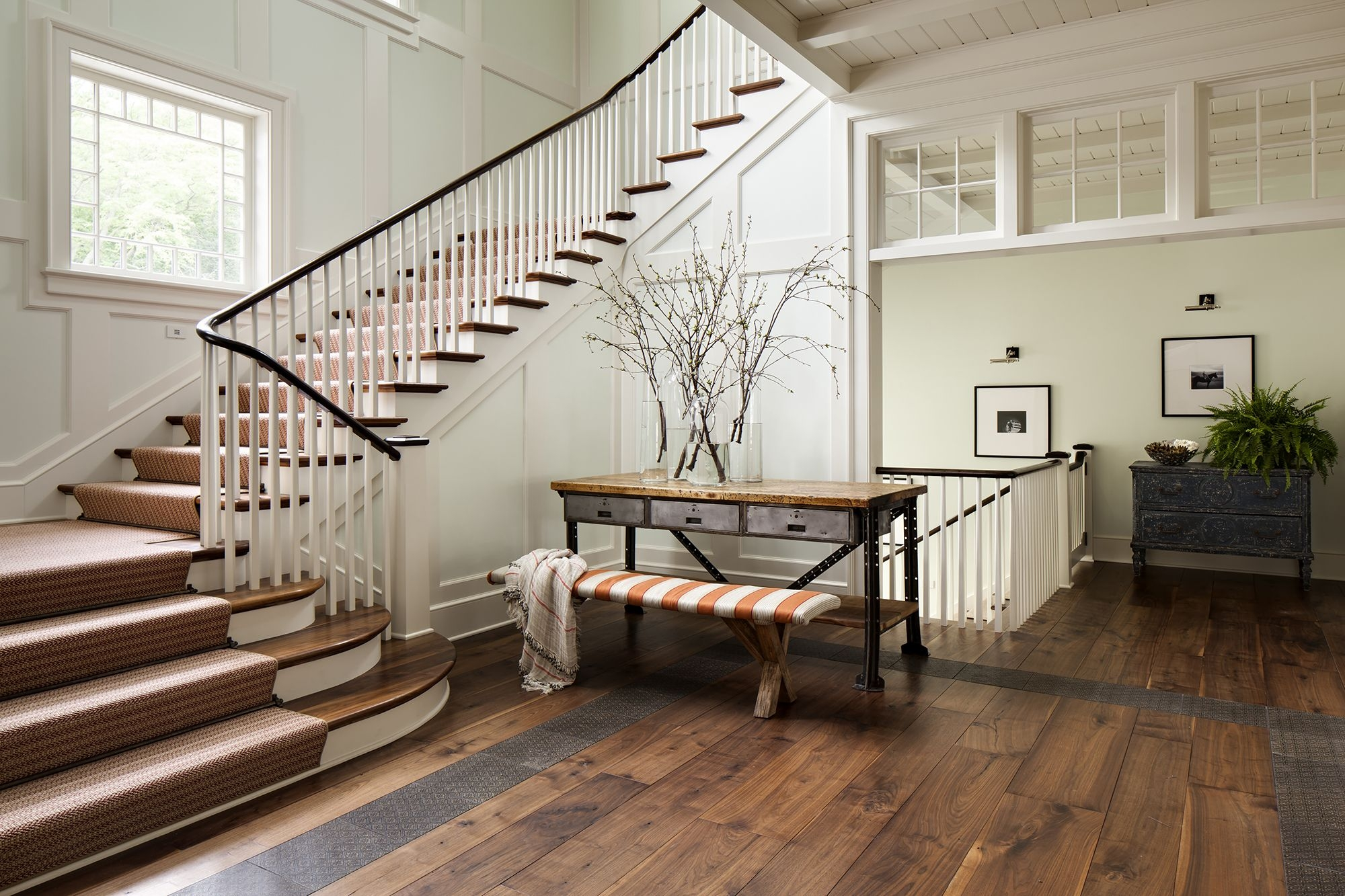 27 Stylish Staircase Decorating Ideas How To Decorate Stairways   Interior Design Of Living Room With Stairs   Stairway   Wall   Low Budget   Low Cost   Mansion