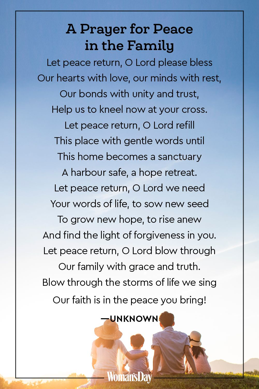Strength And Prayers Comfort Family My