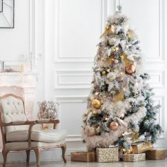 Living Room Tree Arm Chairs Stunning Christmas Ideas For 2018 Best Decorating Styles