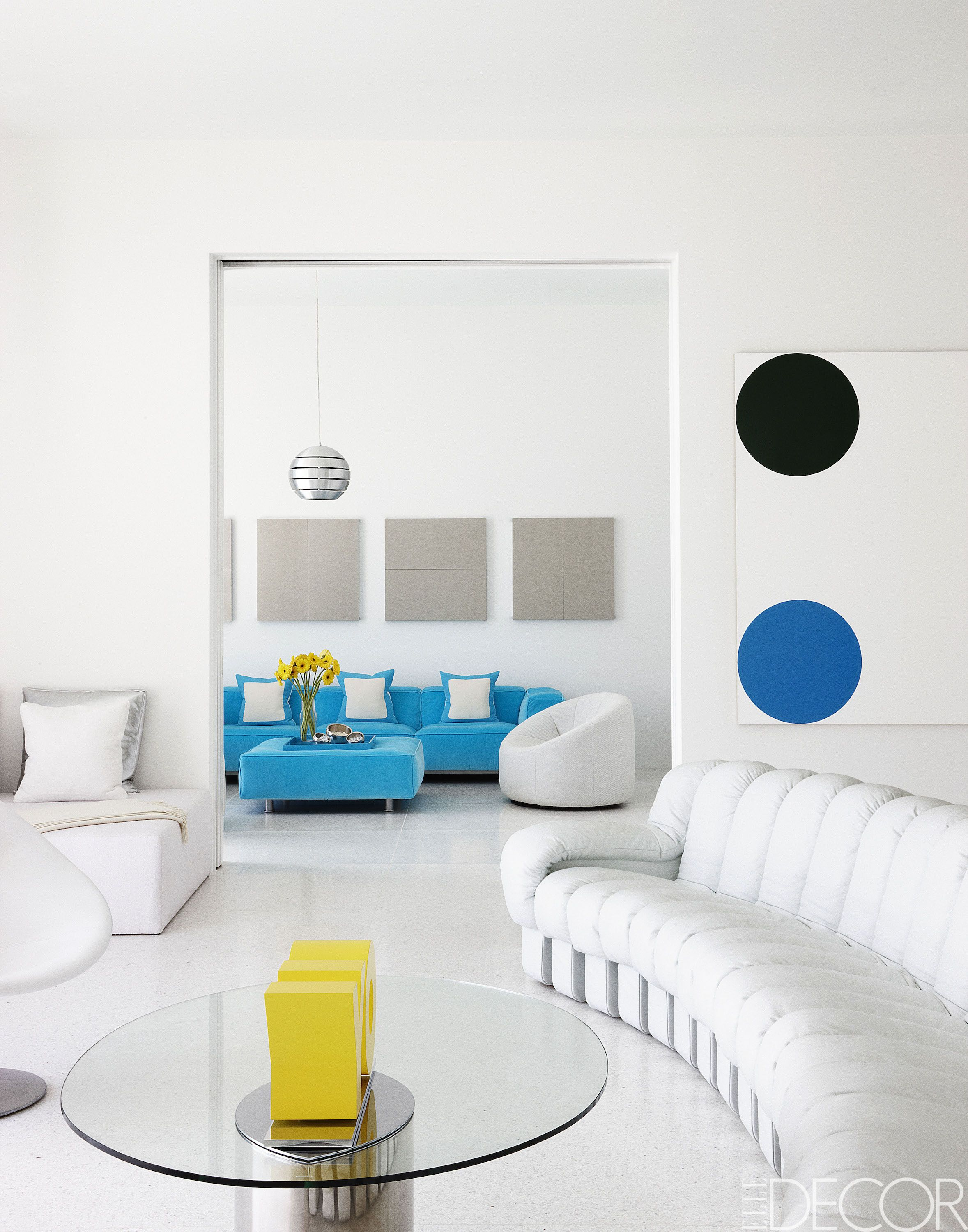 pictures of white living rooms led lighting for room ideas 50 blue decorating how to use wall paint decor
