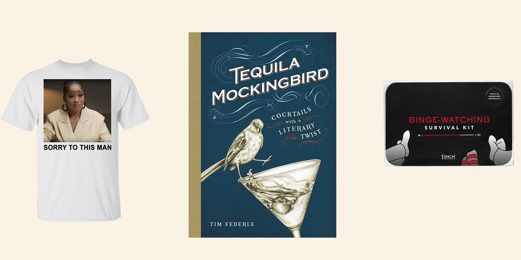 Keke Palmer Tshirt, Tequila Mockingbird, Binge Watching Kit