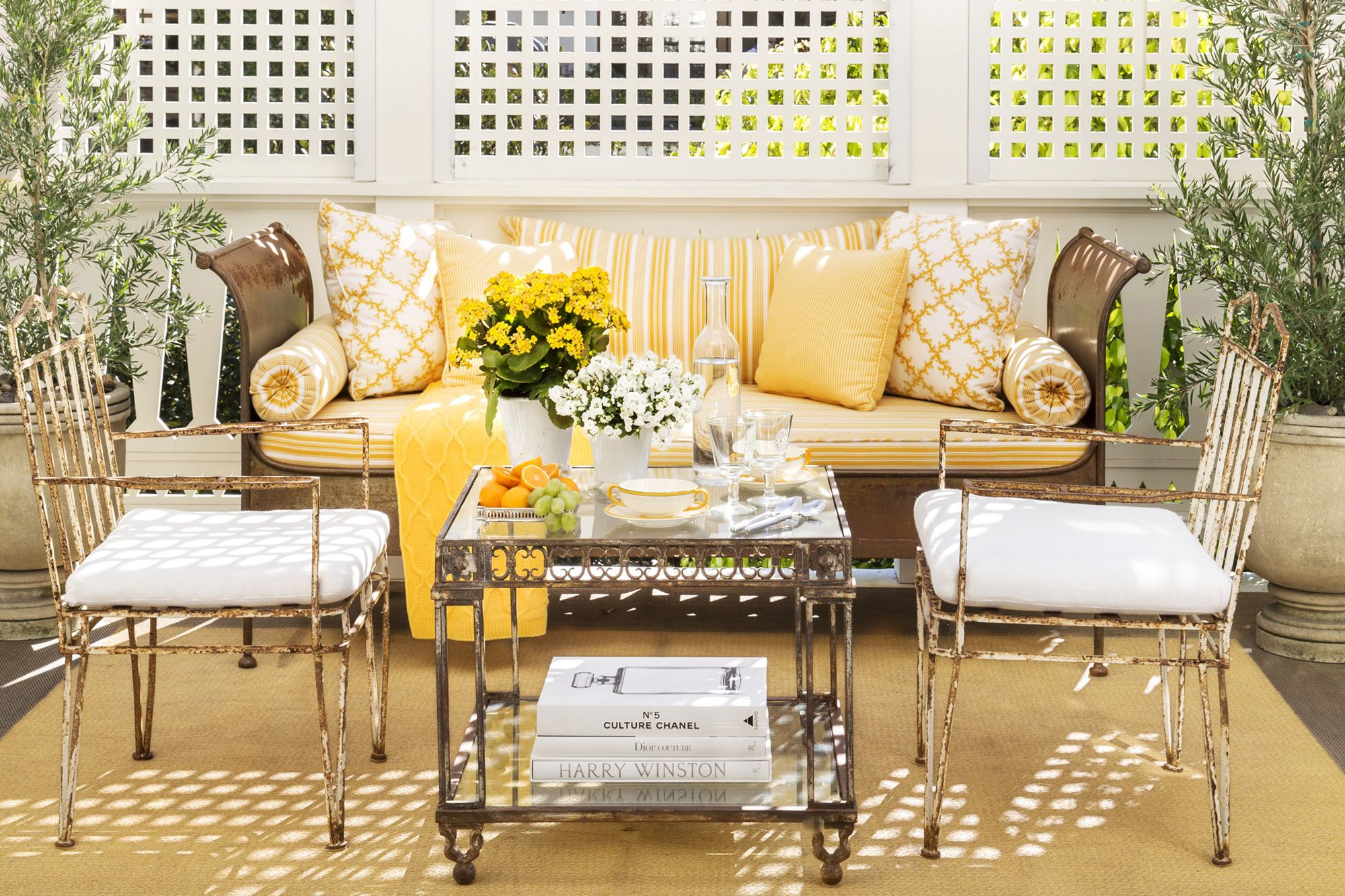 Lemon Yellow Home Decor  Yellow Decorating Ideas