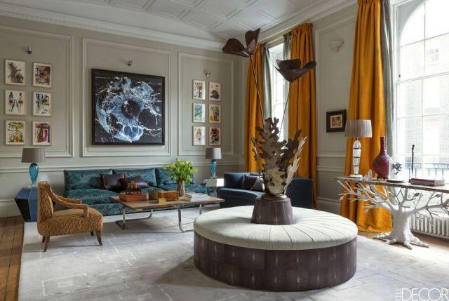 55 Inspiring Living Room Curtain Ideas - Elegant Window Drapes