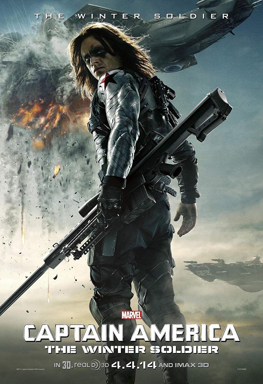 Winter Soldier Hair : winter, soldier, Bucky, Barnes, Short, 'Falcon, Winter, Soldier', Poster