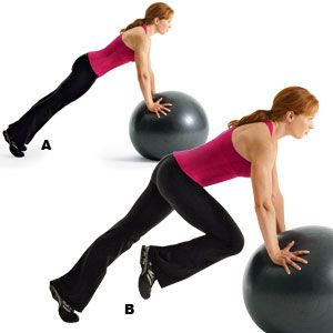 Image result for NOSE-TO-KNEE CRUNCH
