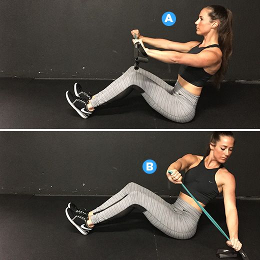 This 20-Minute Workout Will Change the Way You Think About Resistance Band Exercises