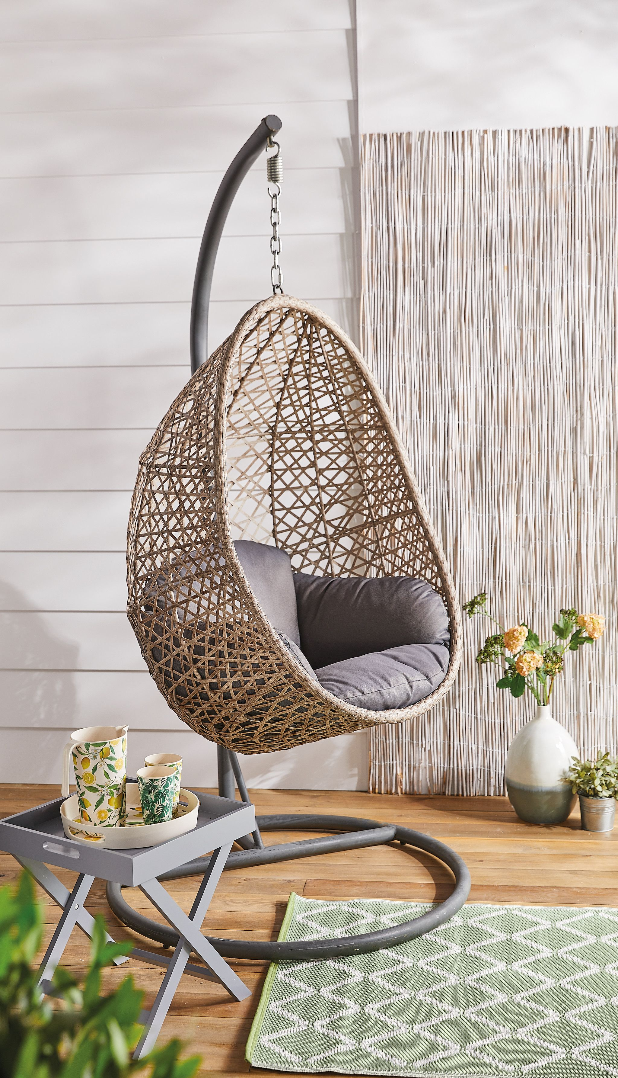 Egg Wicker Chair New Aldi Garden Furniture Is Largest Ever Outdoor Range Aldi