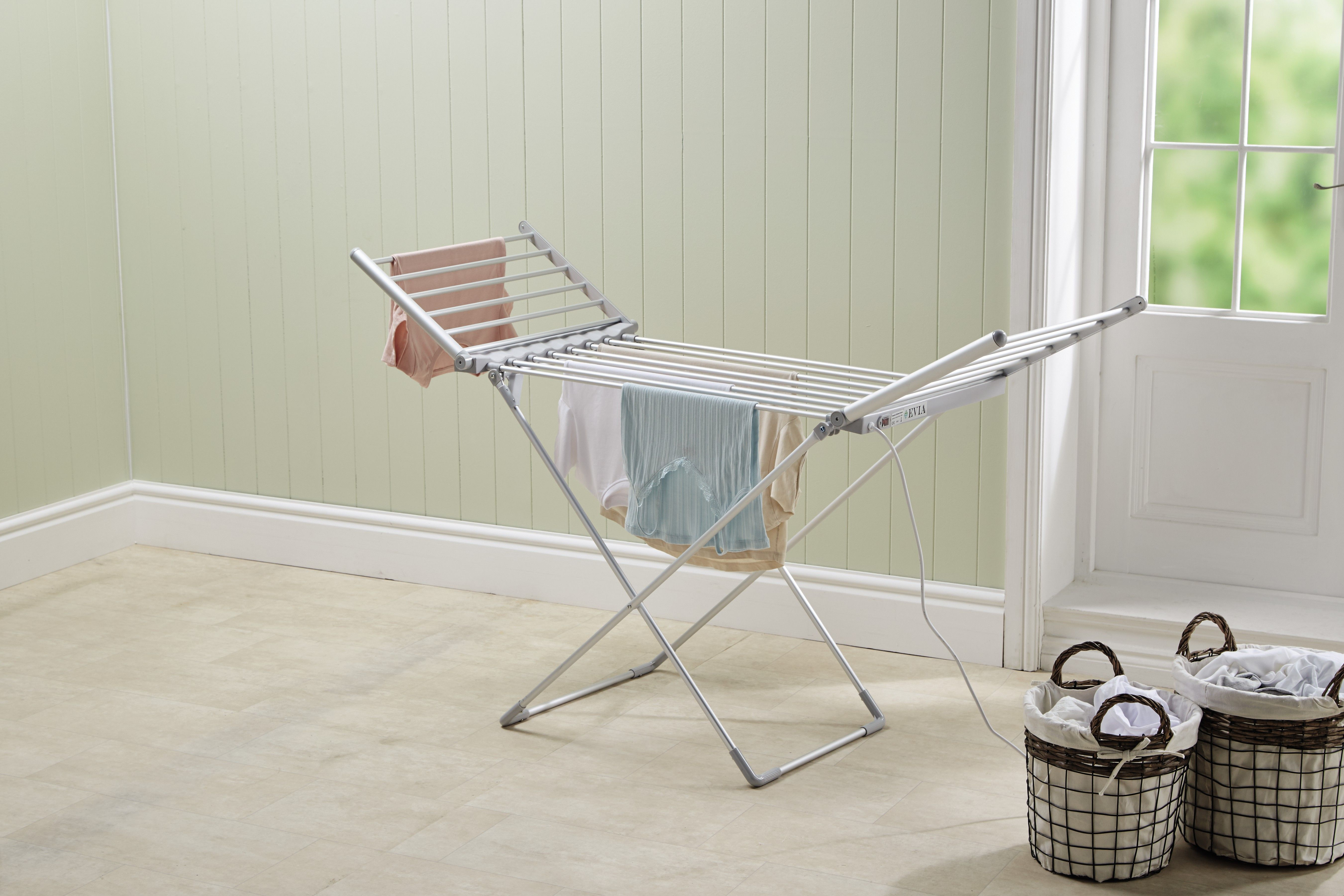 aldi s new heated clothes airer is