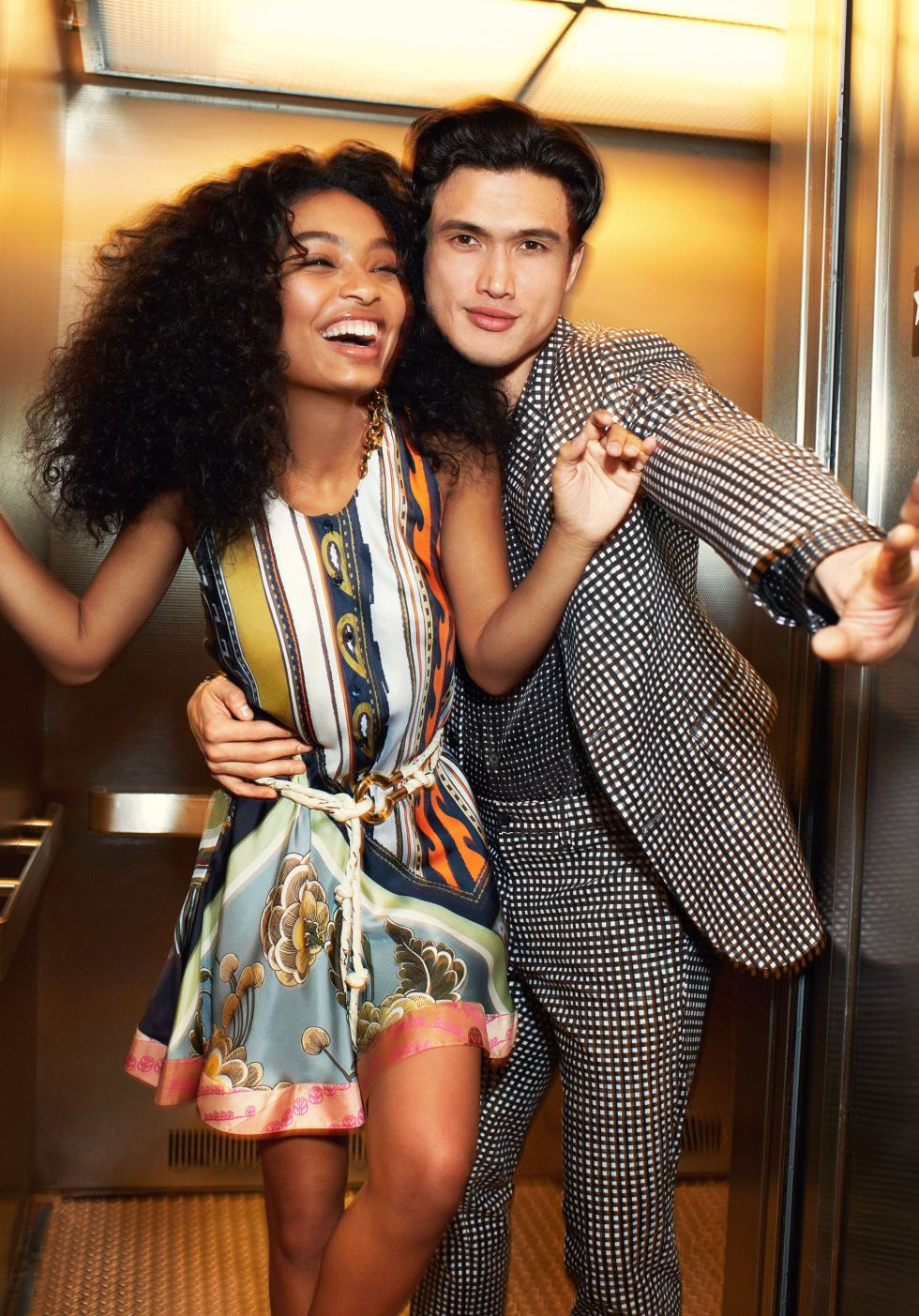 Yara Shahidi and Charles Melton Are Lighting Hollywoodon Fire