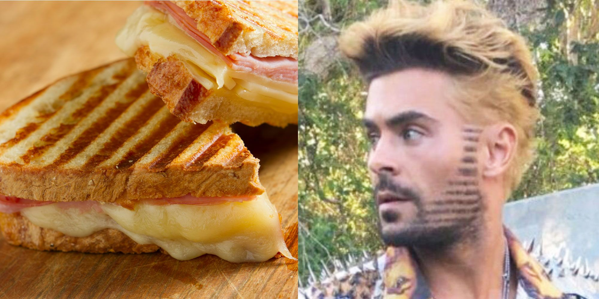 Zac Efrons New Haircut Was Literally Inspired By A Panini