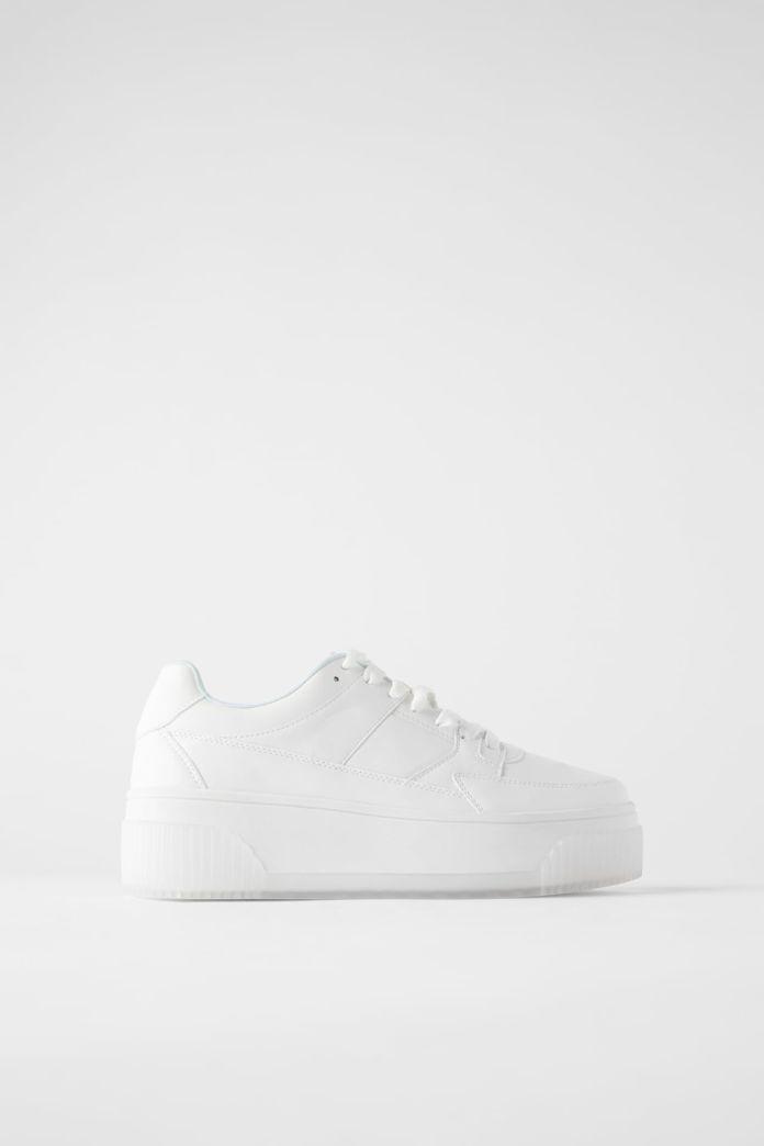 Shoe white rubber sole from Zara