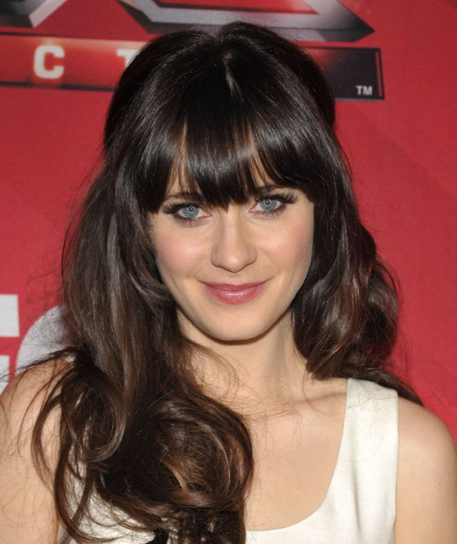 16 hairstyles with bangs - bangs for face shape
