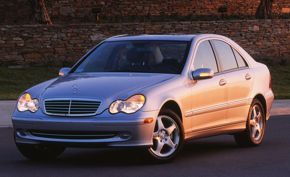 medium resolution of 2001 mercedes benz c240 c320