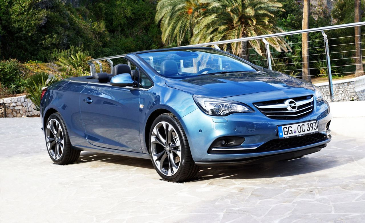 2014 Opel Cascada Cabriolet First Drive Review Car And Driver