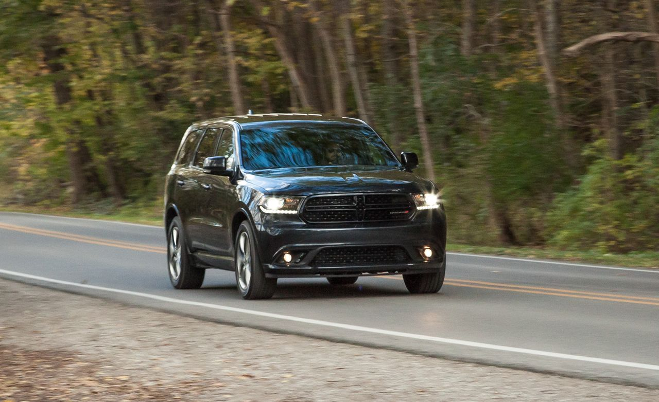hight resolution of 2014 dodge durango r t hemi rwd test 8211 review 8211 car and driver