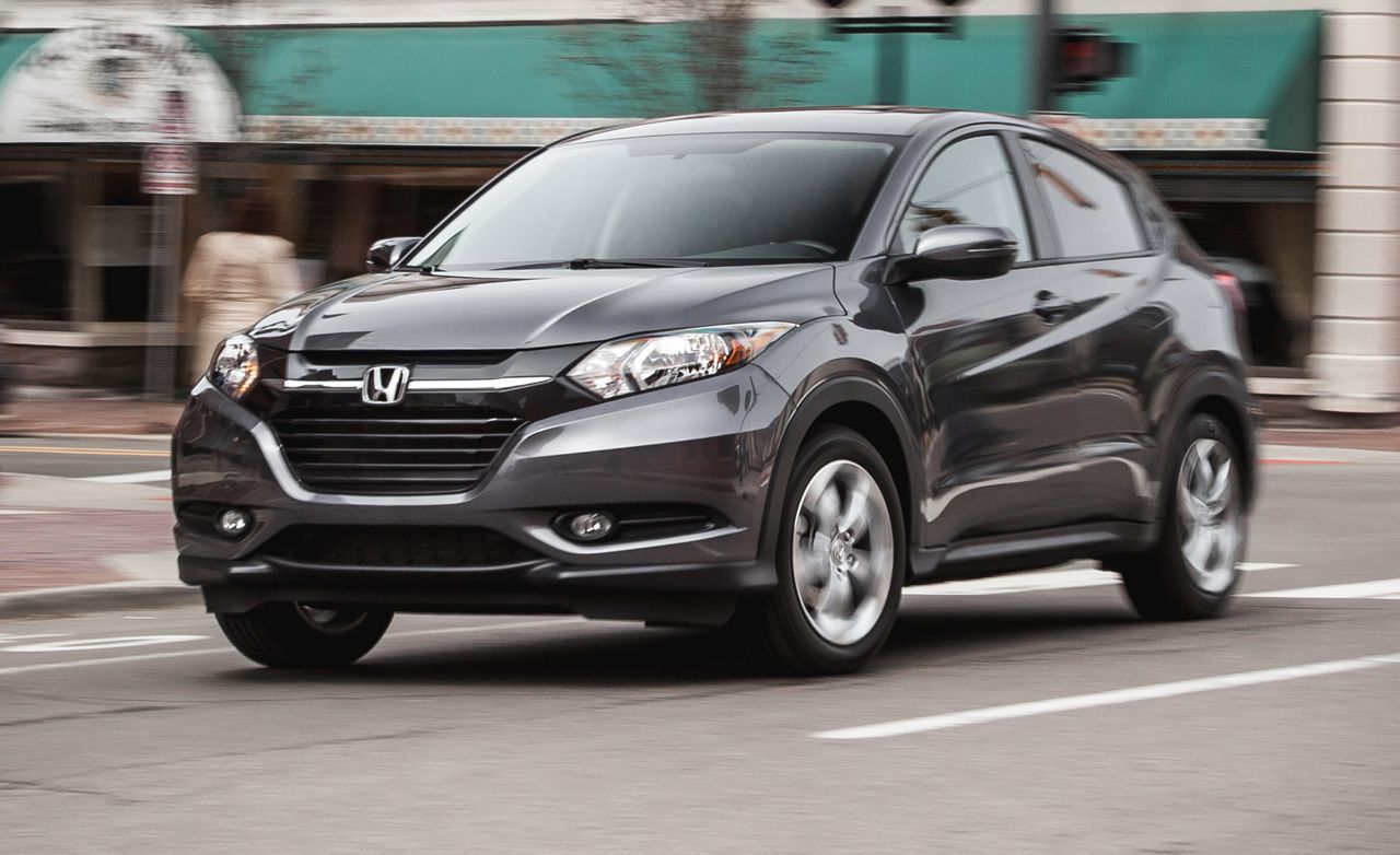 hight resolution of 2016 honda hr v fwd manual instrumented test 8211 review 8211 car and driver