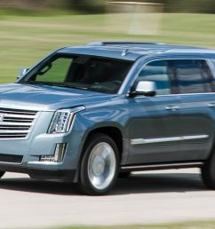 2016 cadillac escalade platinum test 8211 review 8211 car and driver [ 1280 x 782 Pixel ]