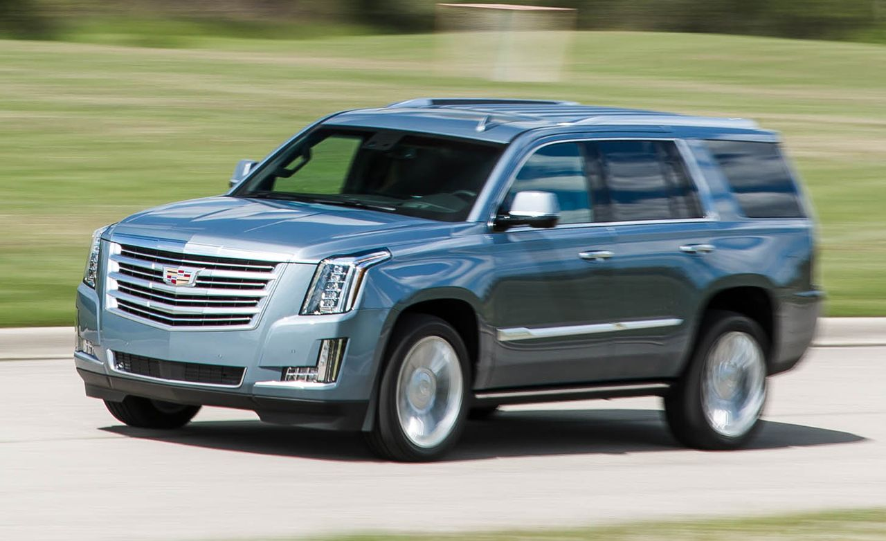 hight resolution of 2016 cadillac escalade platinum test 8211 review 8211 car and driver