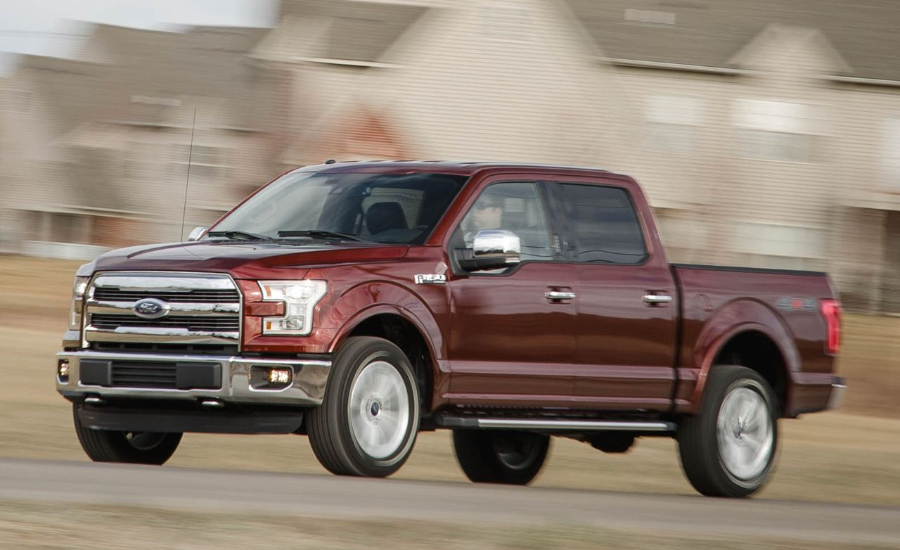 hight resolution of 2016 ford f 150 lariat supercrew 5 0l 4x4 test 8211 review 8211 car and driver