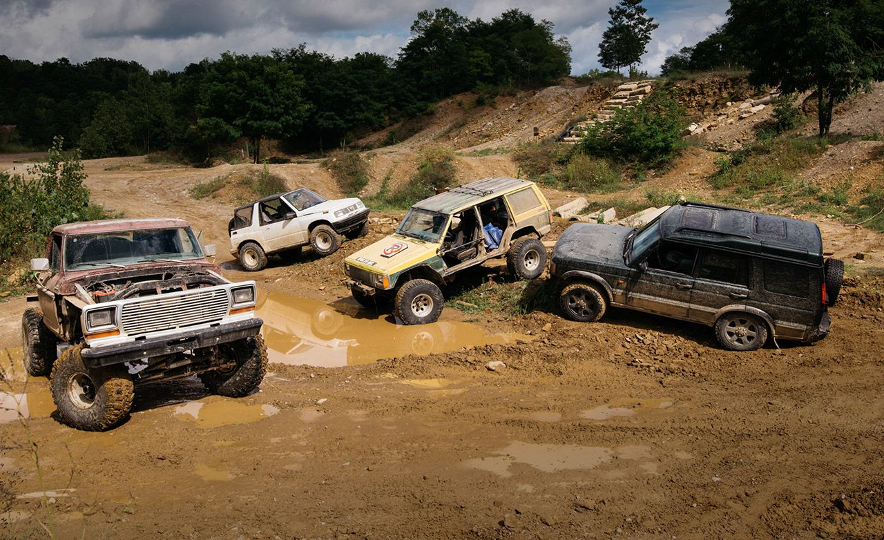 hight resolution of the battle of the off road beaters ford vs geo jeep and land rover 8211 feature 8211 car and driver