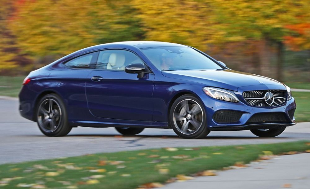 medium resolution of 2017 mercedes benz c300 coupe 4matic