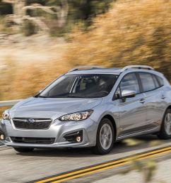2017 subaru impreza 5 door first drive 8211 review 8211 car and driver [ 1280 x 782 Pixel ]