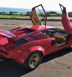in a lamborghini countach downshifting is like playing footsie with a manatee [ 2250 x 1375 Pixel ]