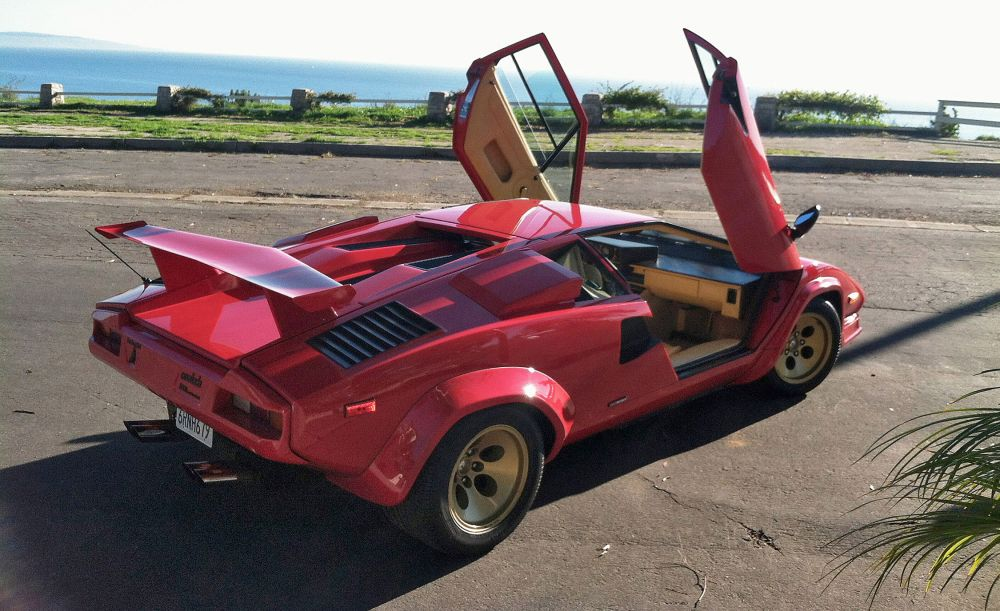 medium resolution of in a lamborghini countach downshifting is like playing footsie with a manatee