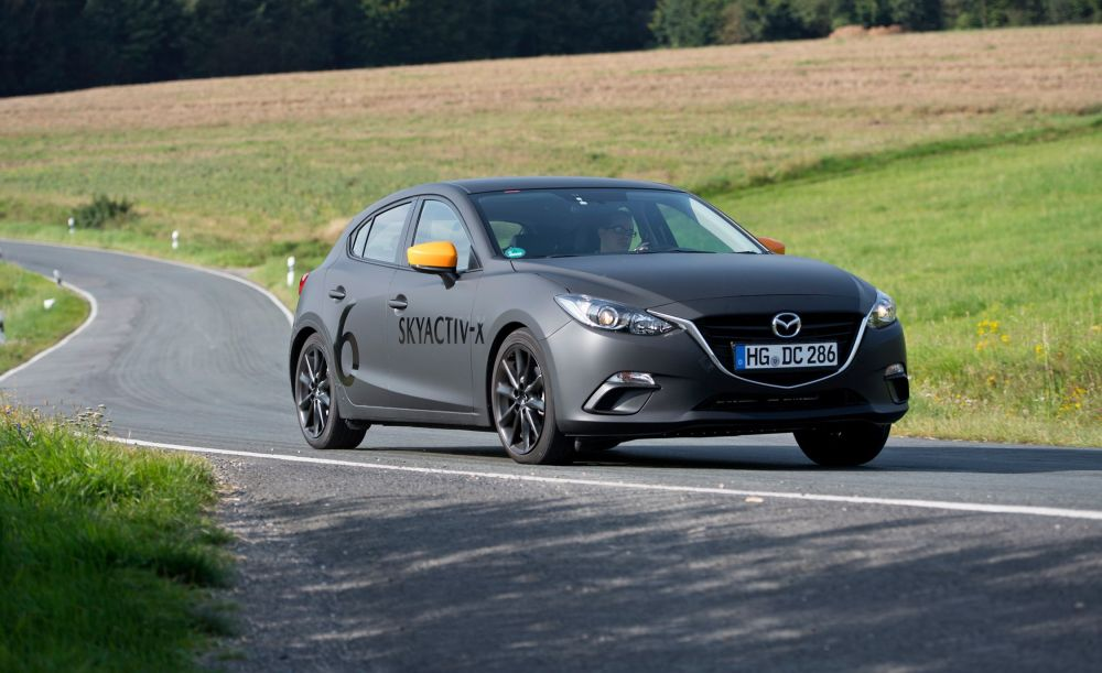 medium resolution of driving mazda s next mazda 3 with its skyactiv x compression ignition gas engine