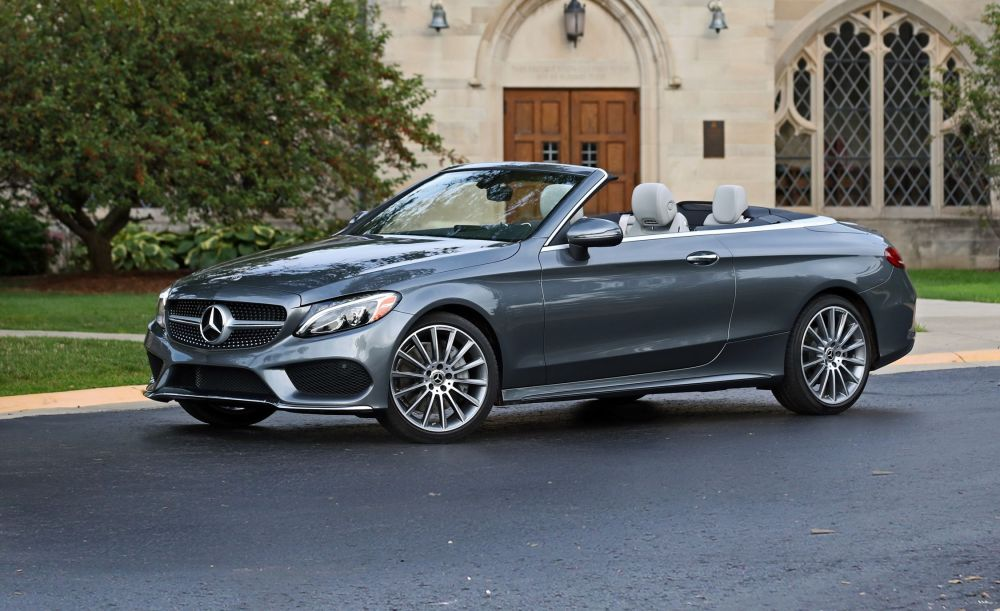 medium resolution of 2018 mercedes benz c300 cabriolet