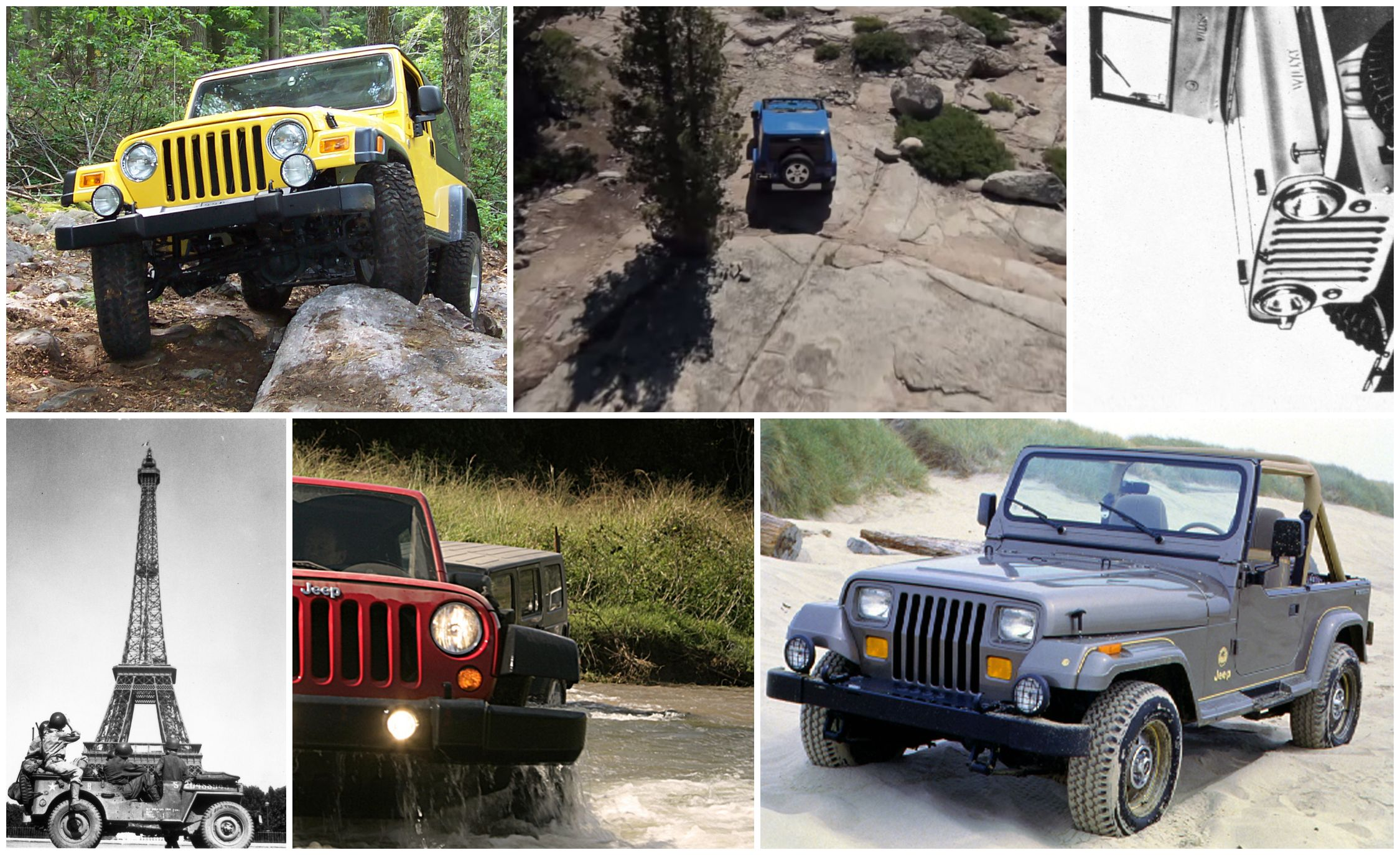 the complete visual history of the jeep wrangler from 1986 to present harness diagram further jeep windshield parts further jeep wrangler yj [ 2250 x 1375 Pixel ]