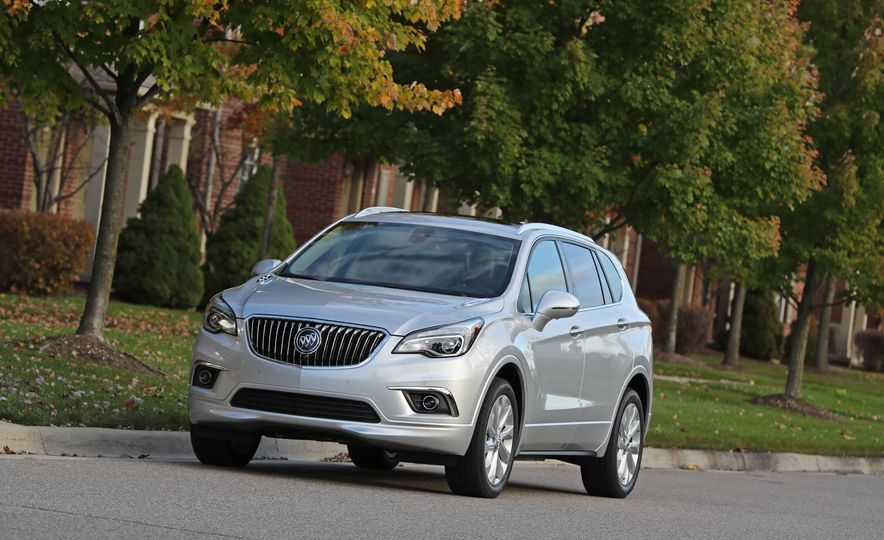 2019 Buick Envision Small Changes Outside, Bigger Ones